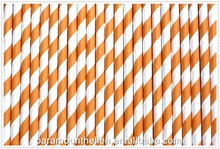 Wholesales flavored drinking straw paper material straw or birthday party