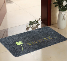 Hot-sale custom welcome mat with TPR backing