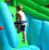 happyhop Crocodile Water Slide-9517,Giant Inflatable Water Slide and Pool with Cannon for sale,Water Slide Slip n Slide