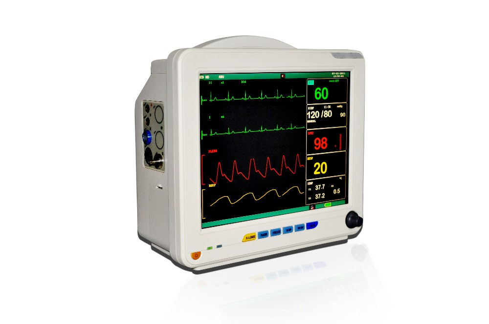 CE approved 6 Parameter Patient Monitor /BP monitor/ECG monitor RPM-9000A