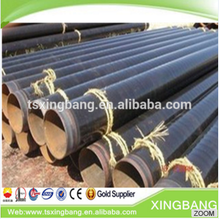 ANSI black plastic pe coating carbon steel anti-corrosion pipe for water, gas and oil application