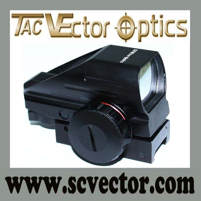 Vector Optics Tomcat 1x22x33 Shock Proof Tactical Compact China Red and Green Dot Sight