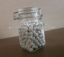 600g & 350g Glass Jar Pie Weight(Ceramic Baking Beans)