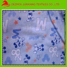 "printed 100%cotton poplin fabric 50*50 142*86 57/58"" for baby's bedding sheet"