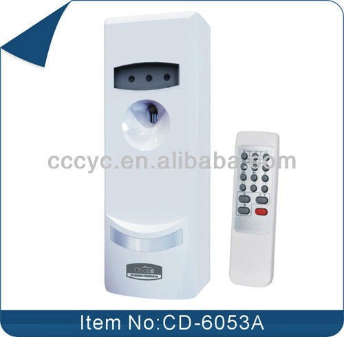 Automatic Remote Control Lcd Digital Aerosol Dispenser Air Freshener CD-6053A