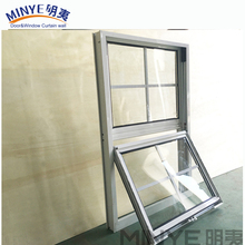 Cheap price aluminum profile sliding window double hung windows up and down windows