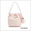 Fashion PVC Leather Women Lady Shoulder Bag Bucket Bag Wholesale