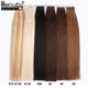 Wholesale 10A European Remy Tape Hair Extensions Double Drawn Virgin Human Invisible Tape In Hair Extensions