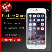 Brand GNS Ultra Clear 0.26MM 9H Mobile Phone Tempered glass screen protector for iPhone6 / tempered glass for iPhone 6