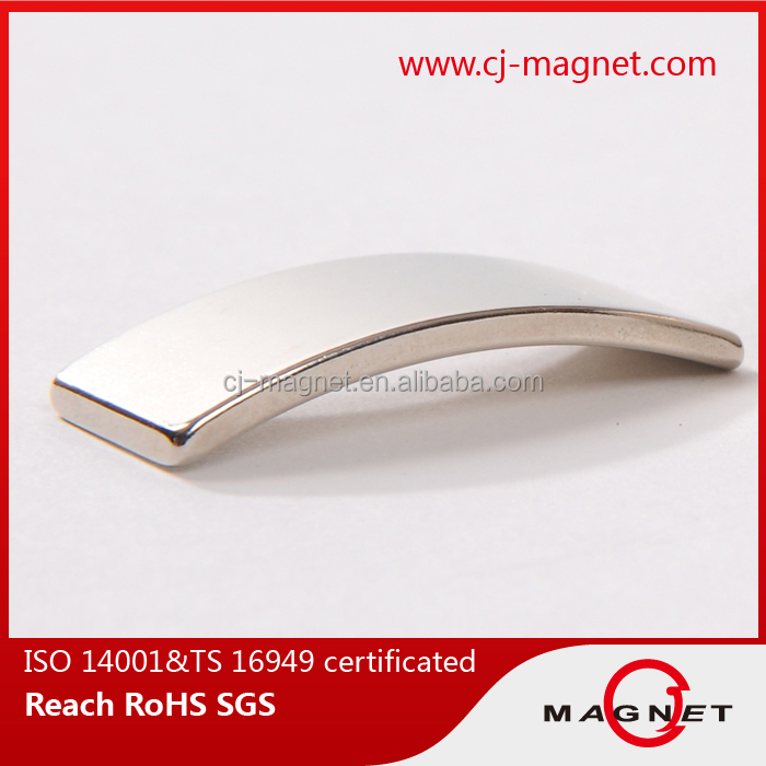 N38 strong neodymium magnet for motors