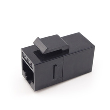 Manufacturers selling telecommunication 8P8C 180 degree rj45 UTP female cat6 inline coupler type keystone jack punch down