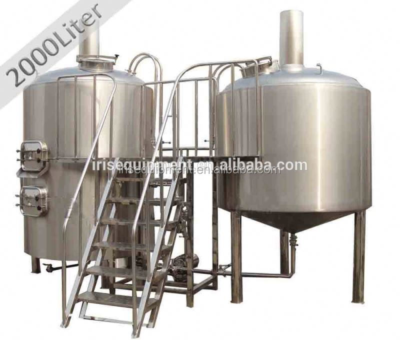 Pub brewing equipment 600L stainless steel or red cooper moved beer making machine