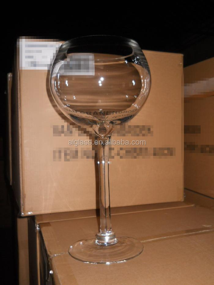Giant wine glass centerpiece vase buy