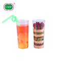 GMF high grade food beverabge multi-function clear plastic cup for sale