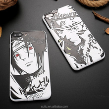 New arrival 2018 Naruto 3d japanese anime photo phone case for iphone 6/6s/7 plus for iphone case naruto