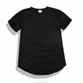 new style elongated t-shirt - new bottom cuts Elongated t shirts - fashion elongated t shirts - curved bottom