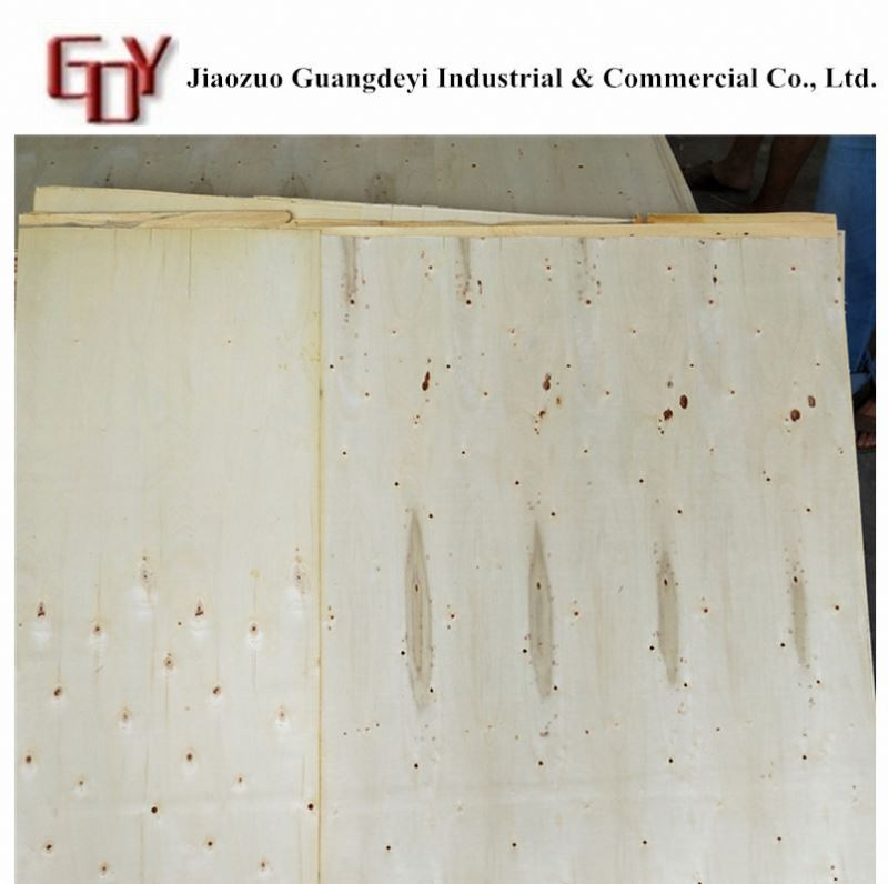High quality veneered plywood door skin wbp glue/waterproof grade film faced plywood