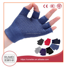 custom woman pure cotton yoga outdoor sport gym cycling using gloves
