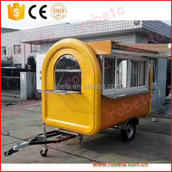 Mobile Food Carts Design For Outdoor School Side Mobile Car Fast Food/ Whatsap:86-15803993420