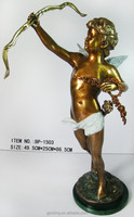 hot sale of cupid angel statue interior decoration,bronze statue