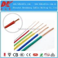 300/500V wires cables 0.5mm2 electrical cable wire