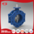 Double Eccentric Soft Seal A216 WCB Carbon Steel Butterfly Valve