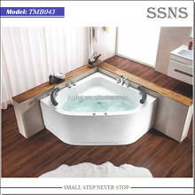 Double Sitting Whirlpool Folding Bath for Adults (TMB043)