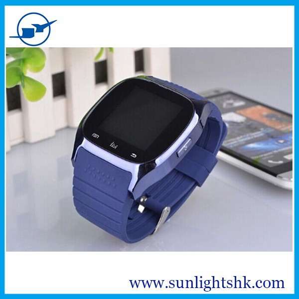 Promotion! Manufacturer Fashion Android Bluetooth Smart Watch With WIFI GPS SIM Card Phone Calling Function