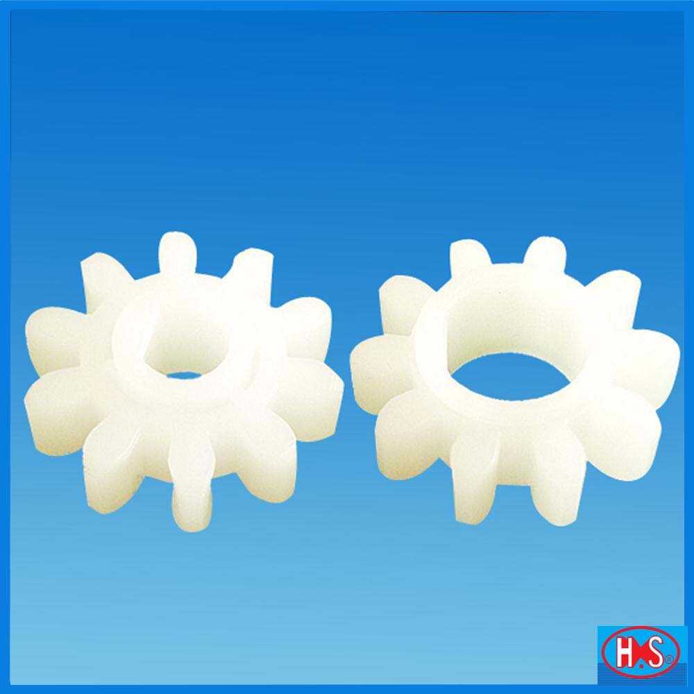 Custom Made small plastic spur <strong>gear</strong> with 10 teeth for pcb injection moulds