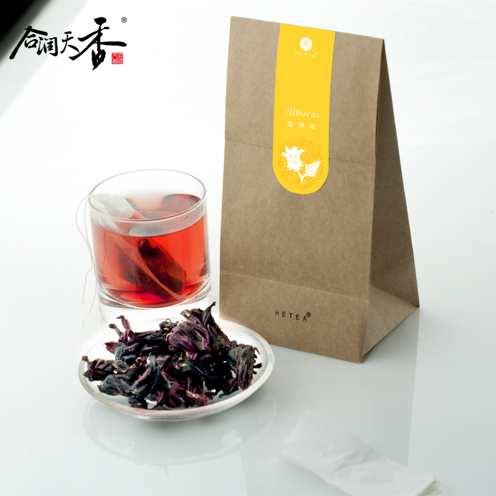 dried roselle flavor tea bag herbal beauty product
