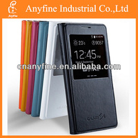 Flip View Cover Leather Case for Samsung S5
