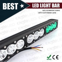 High lumen New 120W 9-60V rectangular CREE LED Work Light bar 6000K 4x4 ATV Tractor Train Bus Flood/spot Beam
