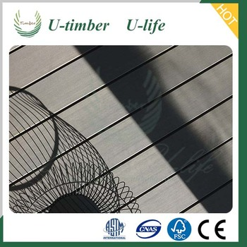 Enjoy your outdoor life with U-timber WPC decking flooring