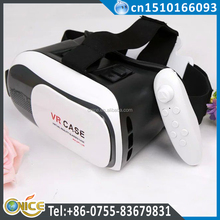 Hot Sales 3D Glasses Virtual Reality 360 Video VR BOX 3.0 VR case 3 Plus Glasses VR for smartphone