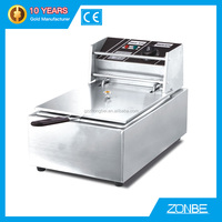 CE approved commercial electric deep fryer for sale