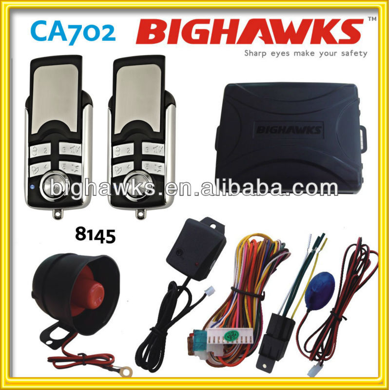 magicar car alarm system CA702-8145 BIGHAWKS car alarm system new products