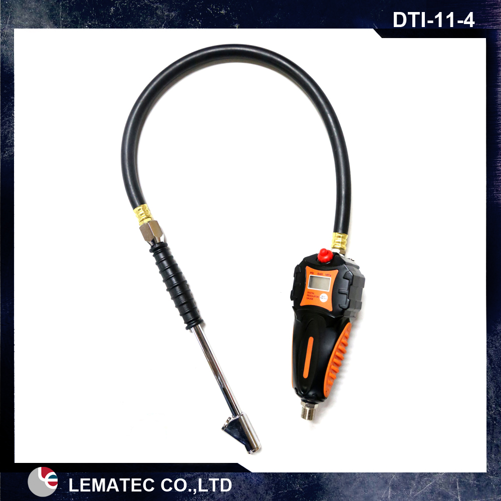 Digital Tire Inflator / Deflator Pressure Gauge Heavy duty Tyre inflator gun with digital pressure gauge hand held tire inflator