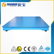 heavy duty 3Ton electronic floor scale platform pallet weigher