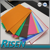 Plastic factory sales raw material uv flat bed printer pp hollow plastic sheeting