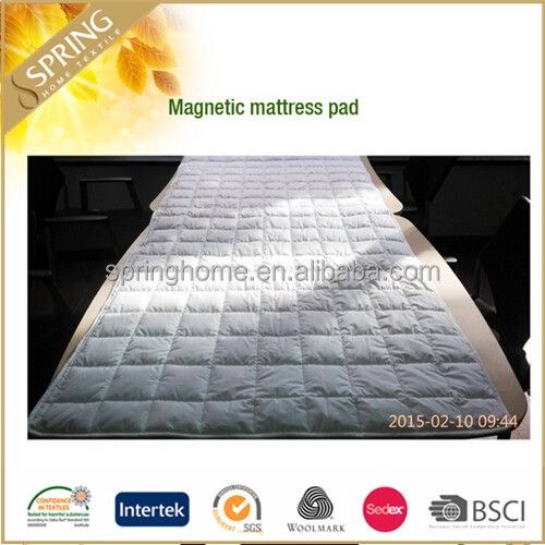 Best selling magnetic therapy mattress pad underlay