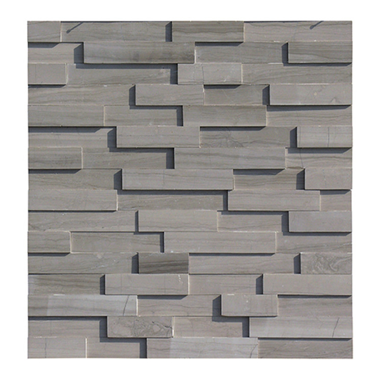 The Best cheap price culture stone marble interior athens brown tile