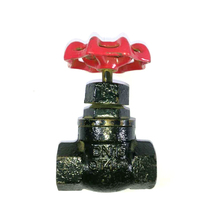 "6199 1/2""-4"" inch made in china Cast Iron Carbon steel valve rising stem gate valve for HDFE pipe 4 inch gate valve"