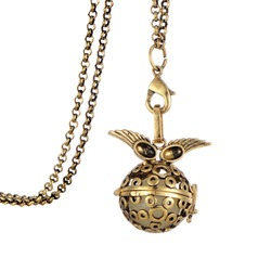 Fashion Women Long Chain Essential Oil Diffuser Locket Necklace