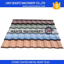 hot sale & high quality corrosive proof stone coated steel roofing tiles making your house more comfortable