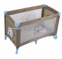 H01 Baby Travel Cot with wheels and locks