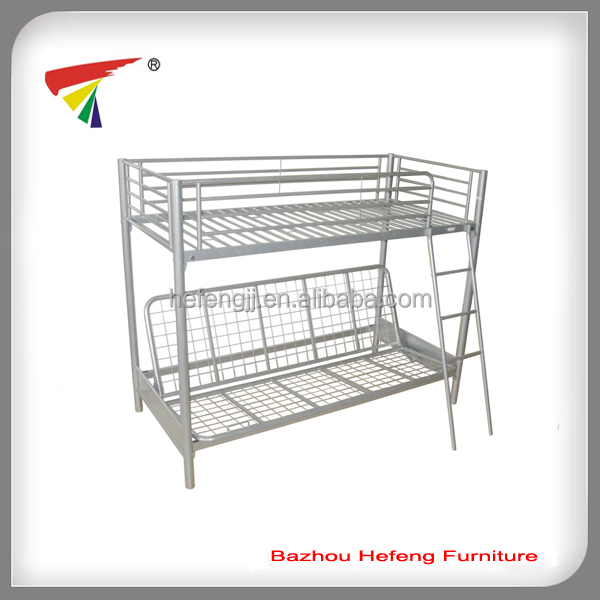 Metal folding sofa bunk bed