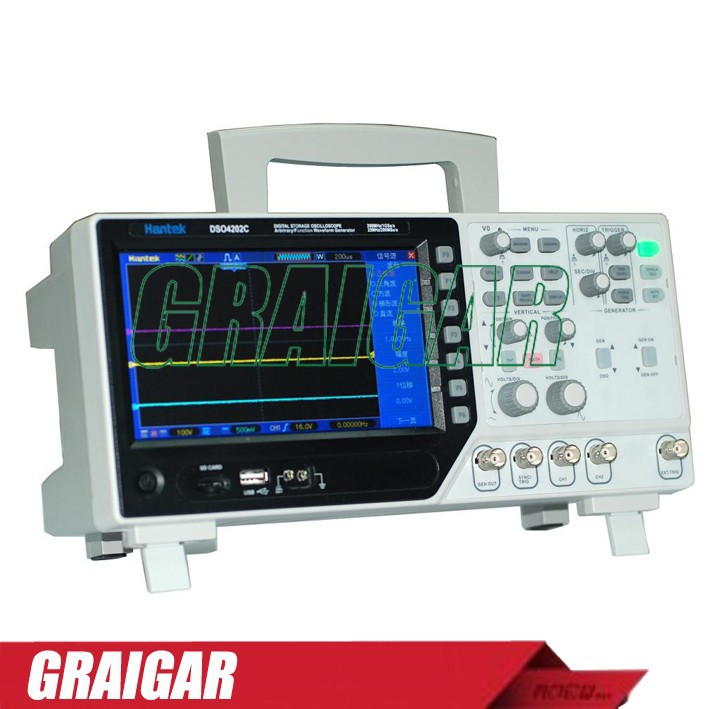 DSO4202C Digital Oscilloscope,High-frequency Oscilloscope,Lower Power Consumption DSO4202C