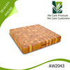 Eco friendly durable non-slip wooden chopping block