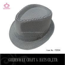fashion cotton fedora hats for winter for men