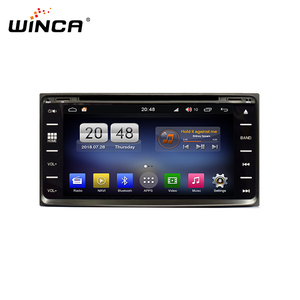 Android 6.95 inch universal two din navigation system for toyota car dvd